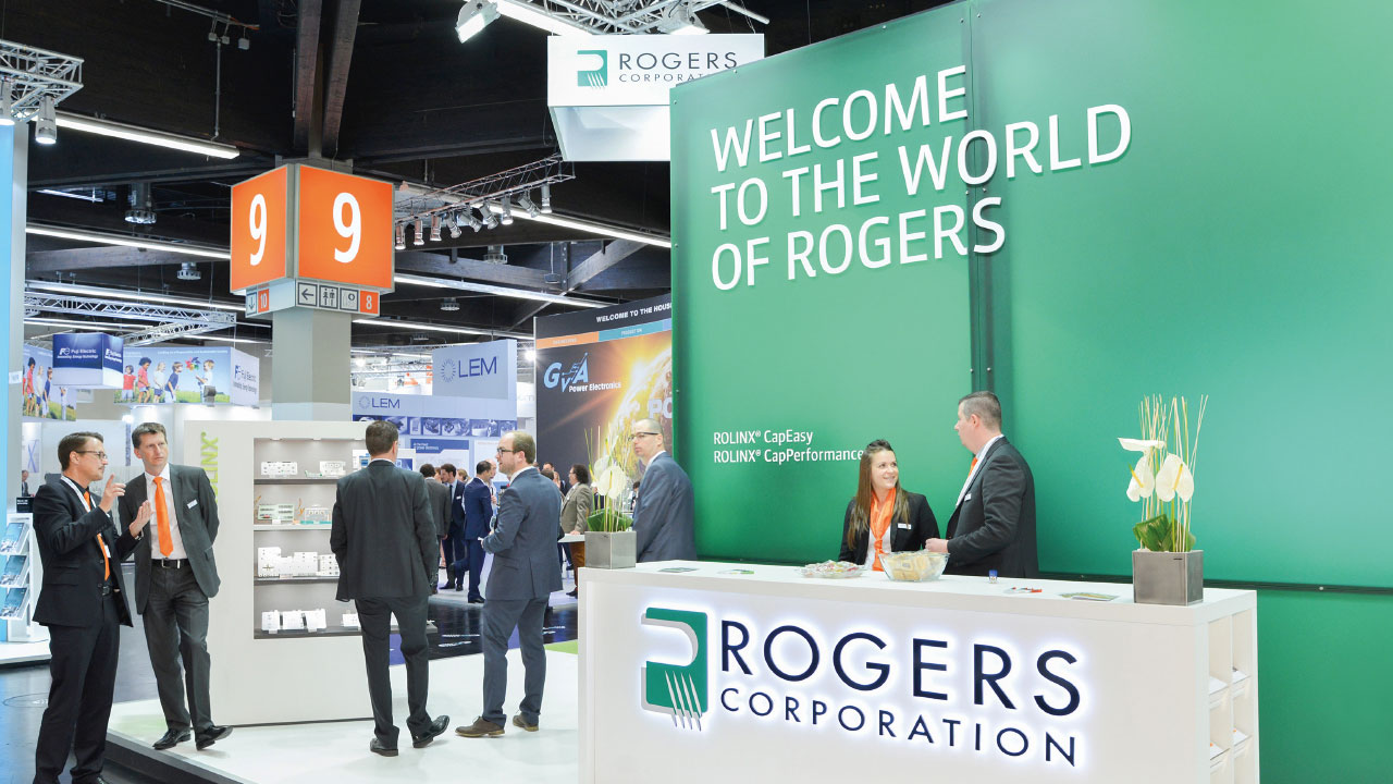 Rogers Corporation Messestand