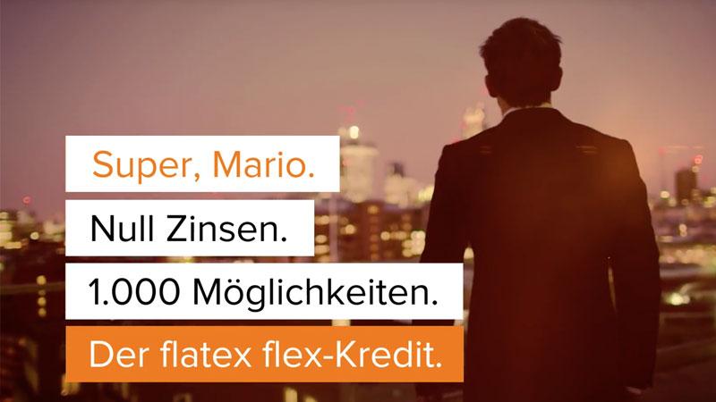 flatex Super Mario Spot