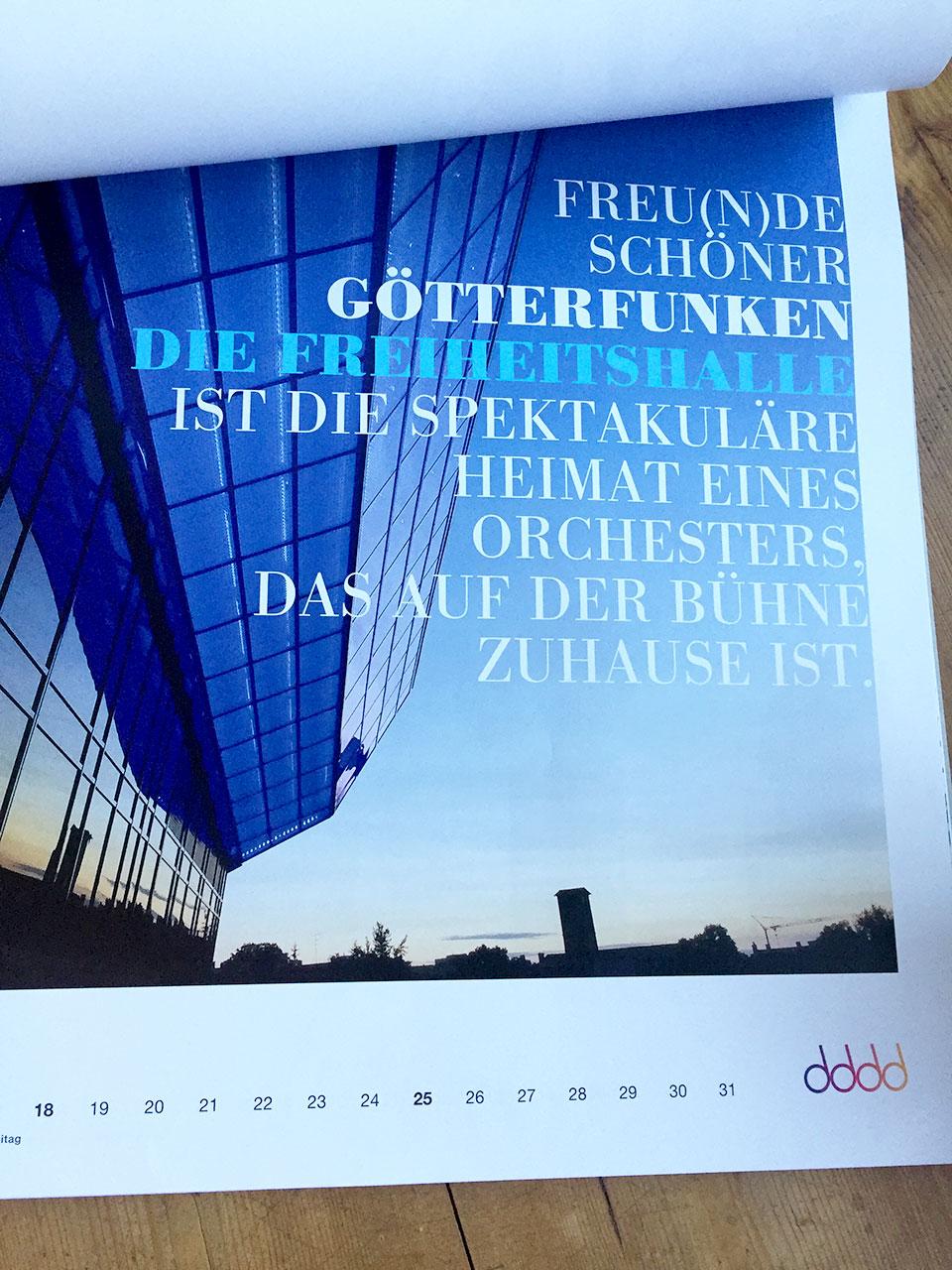 Hofer Symphoniker Jahreskalender