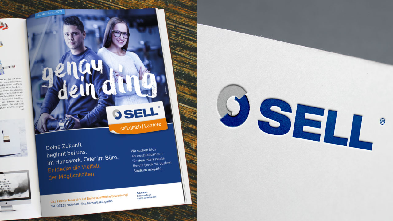Sell Markenbild Anzeige Logo Sell GmbH brand image