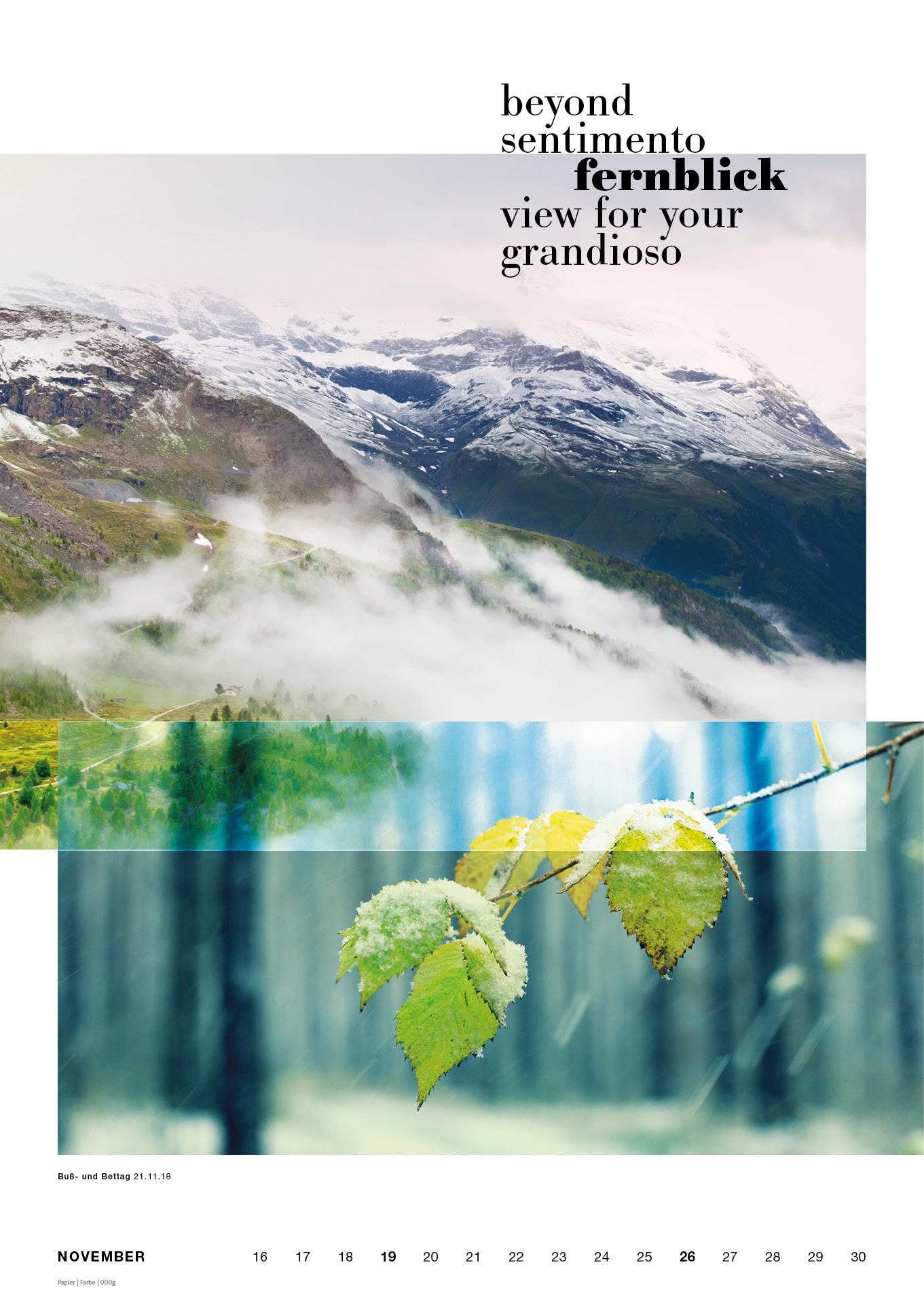 designhouse Kalender 2018 NaturalLove Available October – NaturalLove