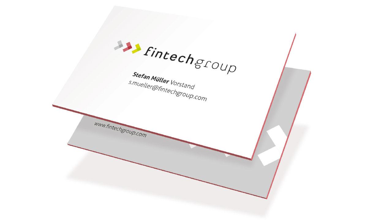 fintech Group Markenbild Visitenkarte fintechgroup AG Financial Services