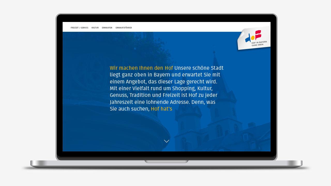 Hofer Einzelhande Markenbild online Hofer Einzelhandel brand-building image