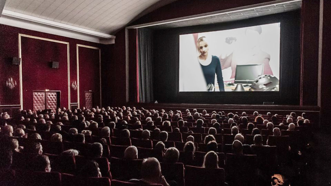 Hofer Filmtage Konzept Kinosaal