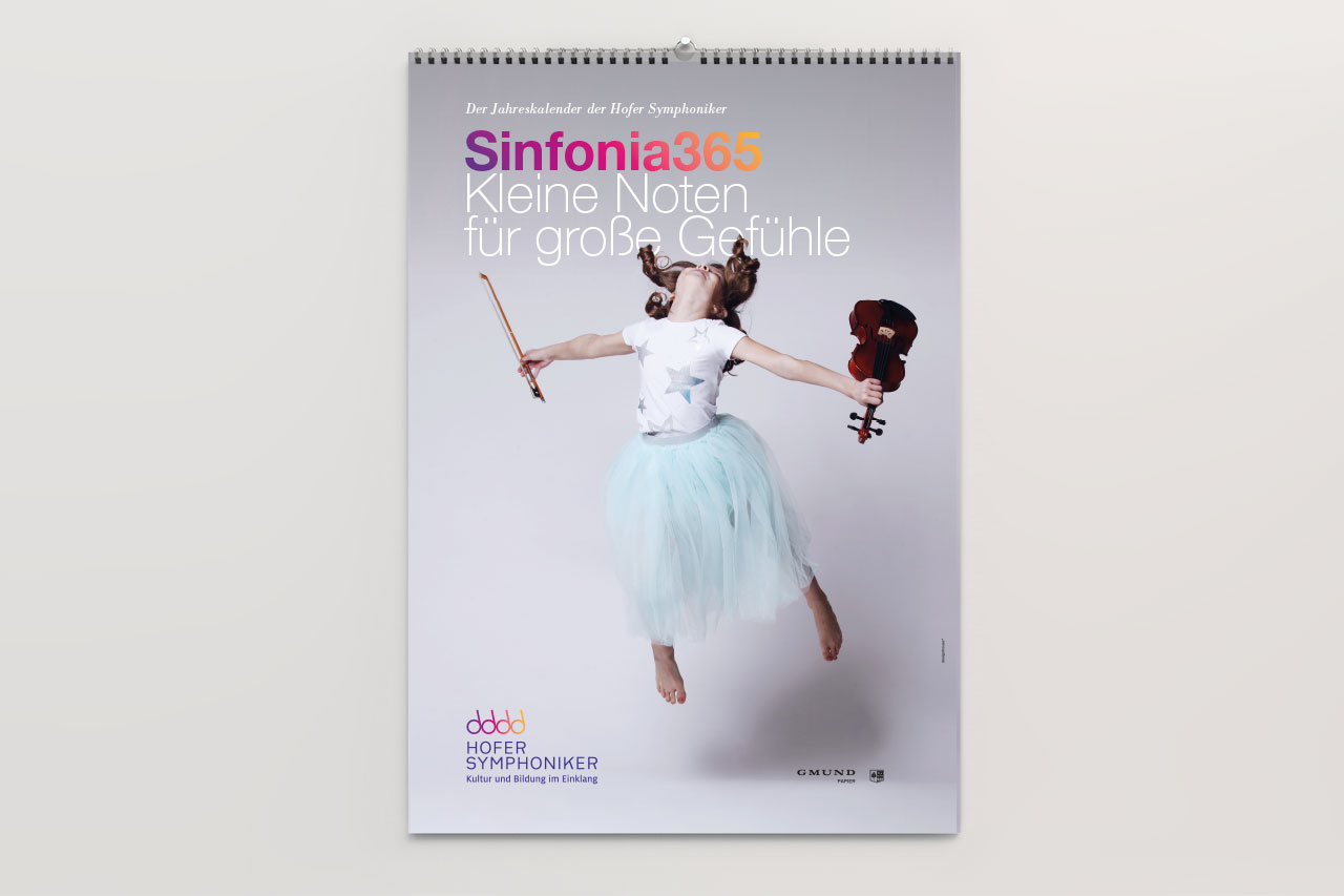 Hofer Symphoniker Markenbild Kalender