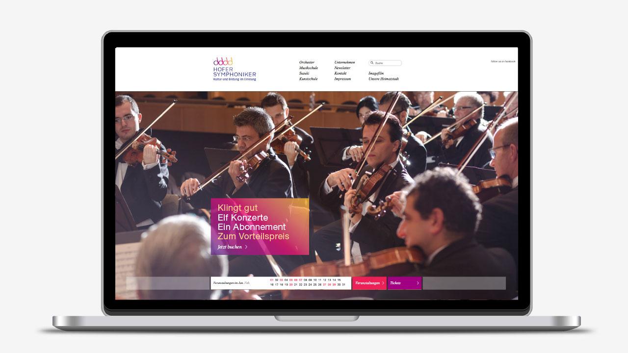 Hofer Symphoniker Markenbild online