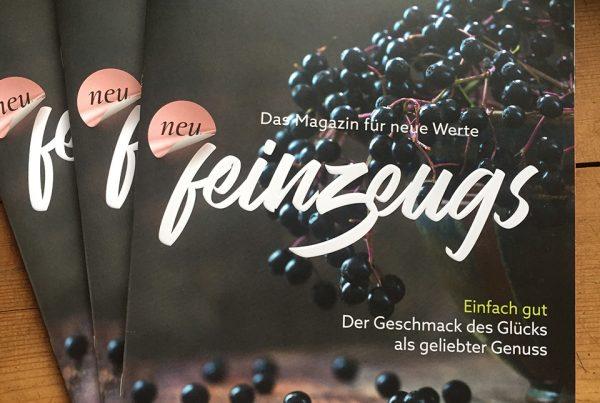 feinzeugs Ausgabe01 Magazin