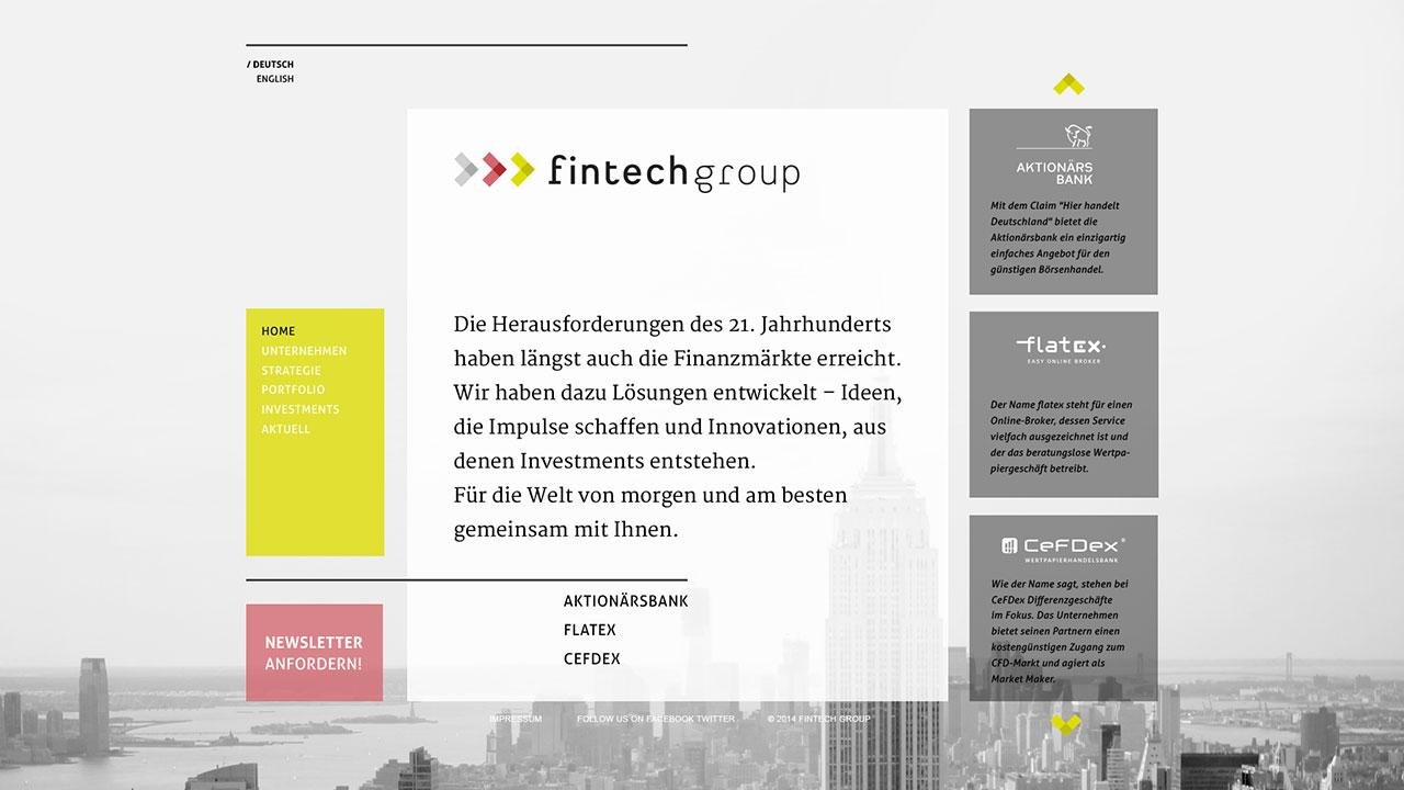 Fintech online