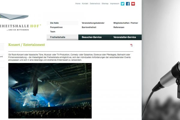 Freiheitshalle online Konzerte