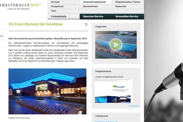 Freiheitshalle online