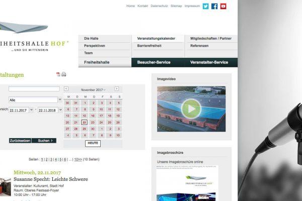 Freiheitshalle online Veranstaltungen