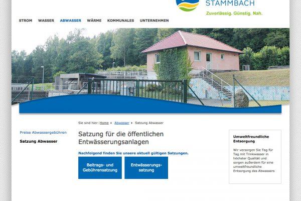 Gemeindewerk Stammbach online Abwasser