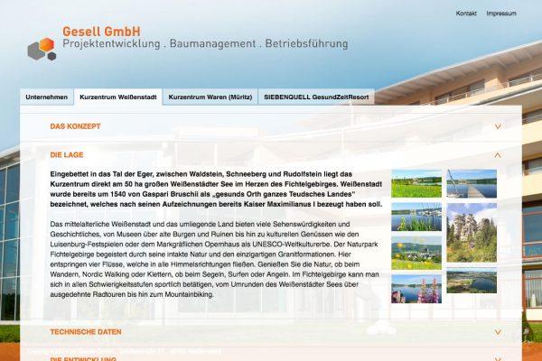 Gesell online Kurzentrum Weißenstadt