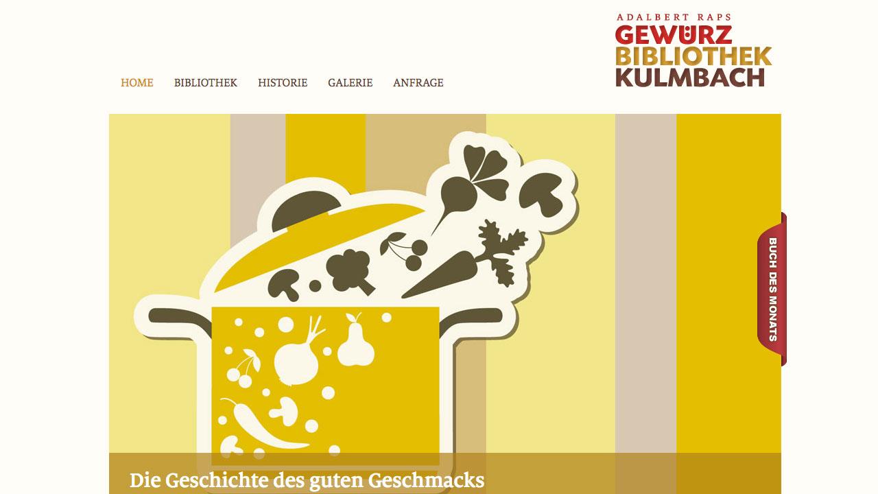 Gewürzbibliothek online