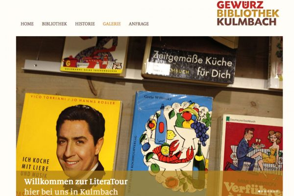 Gewürzbibliothek online Galerie