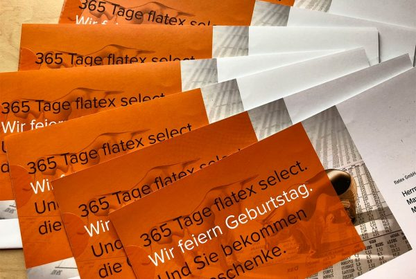 flatex 365 Tage select Direct Mailing Mehr für die Märkte Mehr für die Märkte More for the markets More for the markets