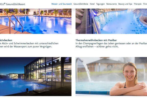 Siebenquell online Wasser- und Saunawelt