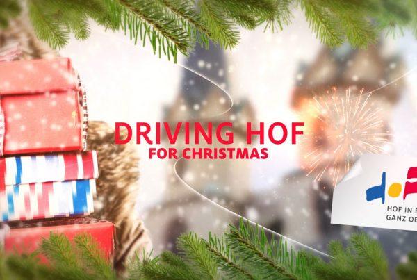 Driving Hof for Christmas Trailer