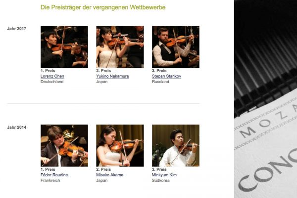 Violinwettbewerb Henri Marteau online