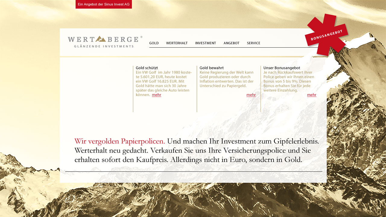 Wertberg online