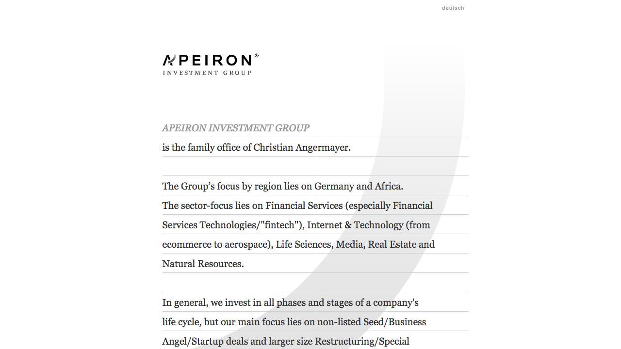 Apeiron Online