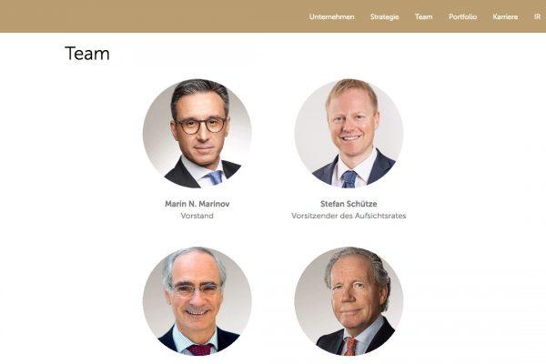 Coreo AG online Team