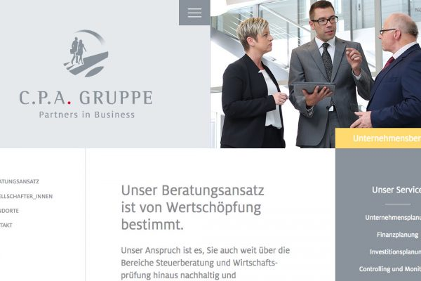 cpa Group online Unternehmensberatung