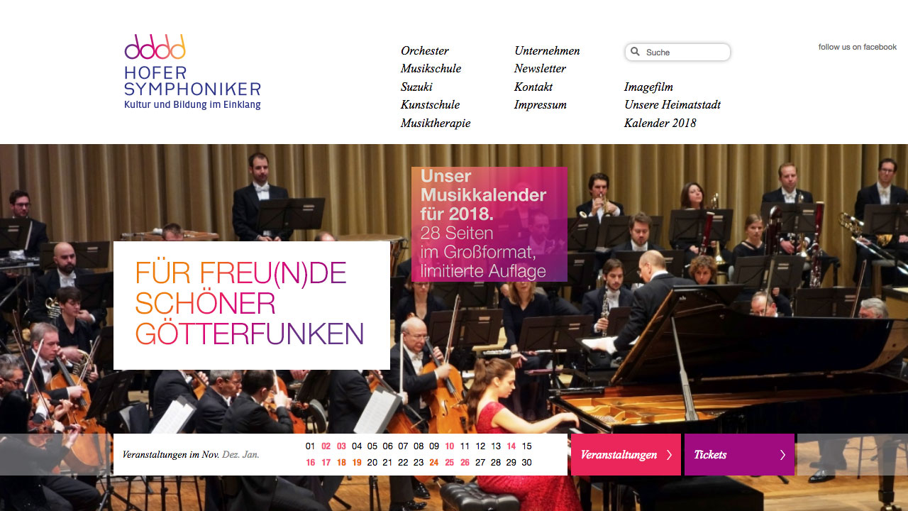 Hofer Symphoniker online