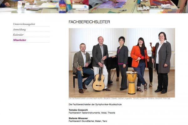 Hofer Symphoniker online Mitarbeiter