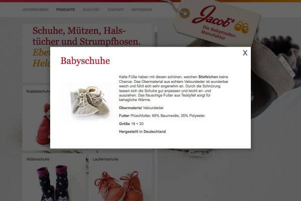 jacobsbabymoden online Babyschuhe