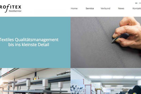 profitex Textilservice online Service