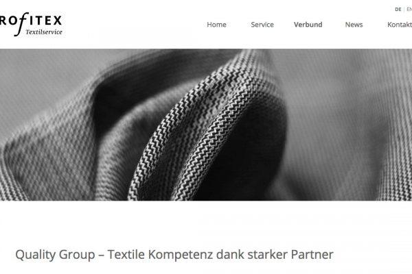 profitex Textilservice online Verbund