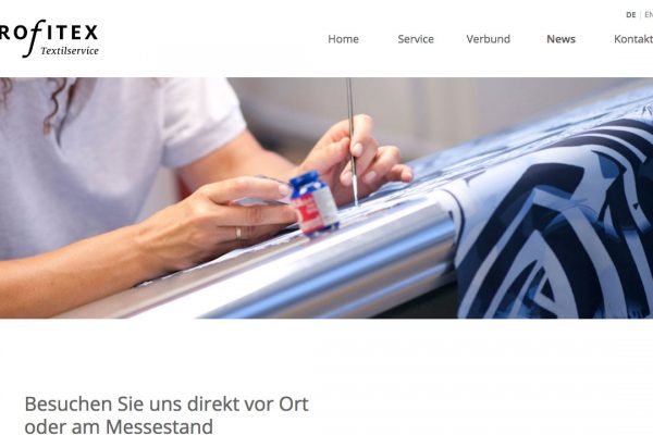 profitex Textilservice online News