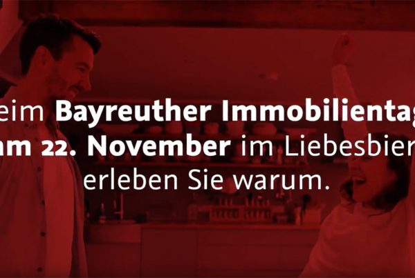 Artus Immobilien Immobilientag Trailer Real estate day in Liebesbier