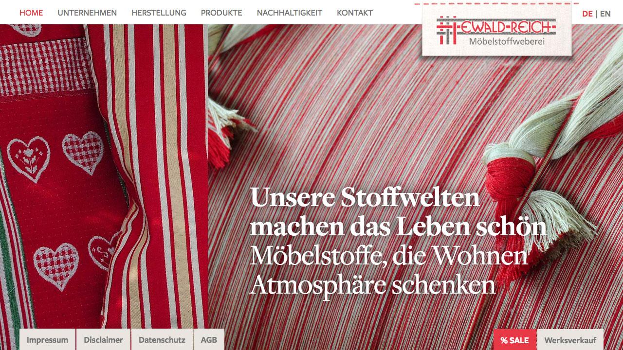Weberei Reich online