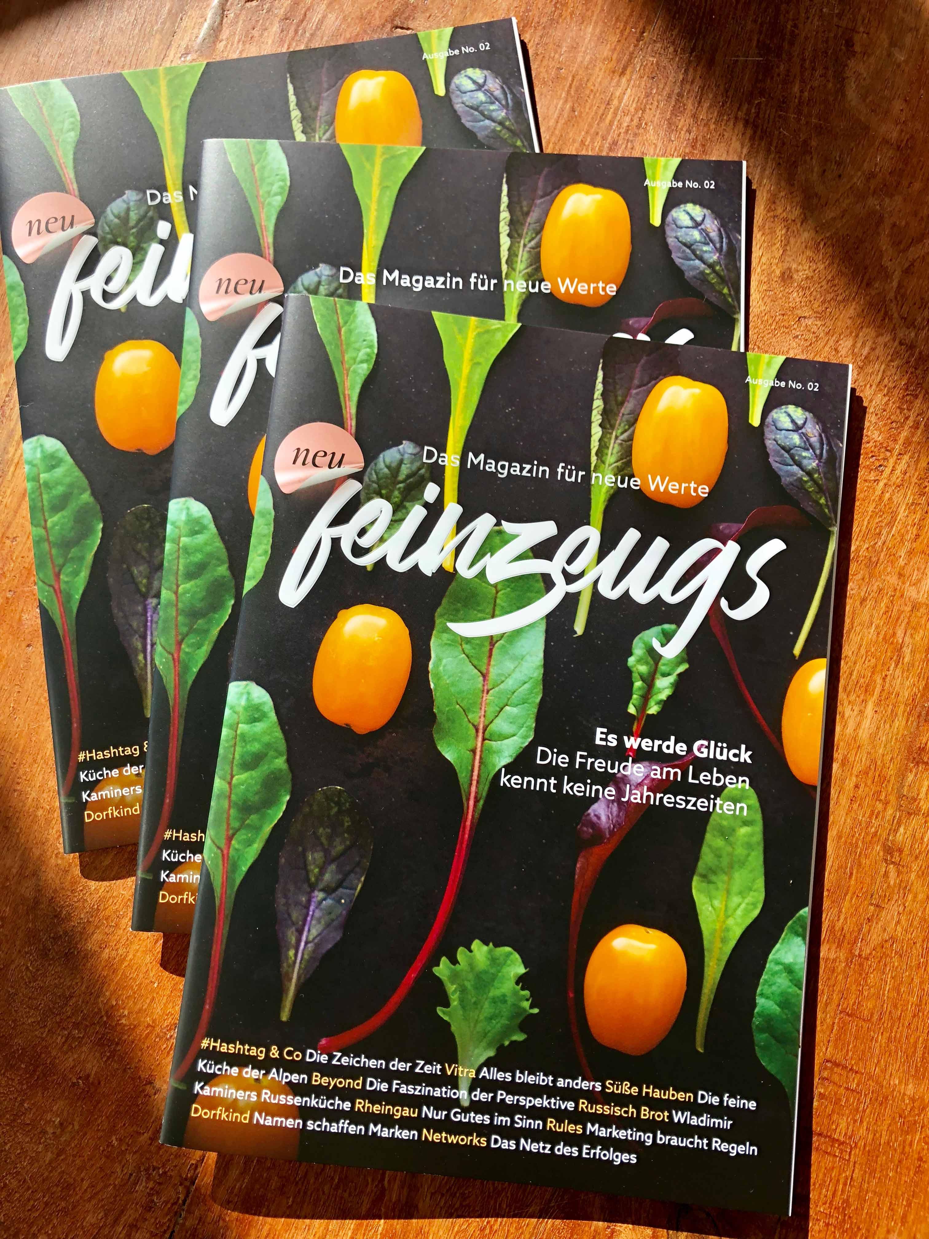 feinzeugs No.2 Magazin