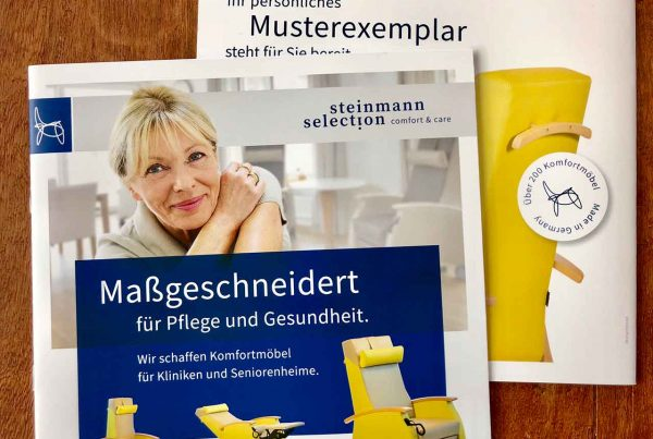 Steinmann Selection Druck comfort + care Steinmann-Mailing comfort + care Steinmann-Mailing