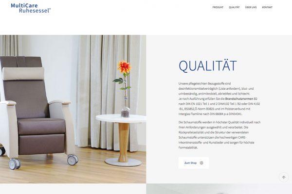 MultiCare online Qualität