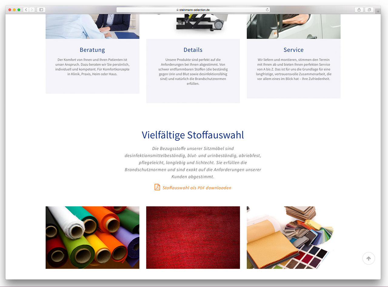 Steinmann Selection online