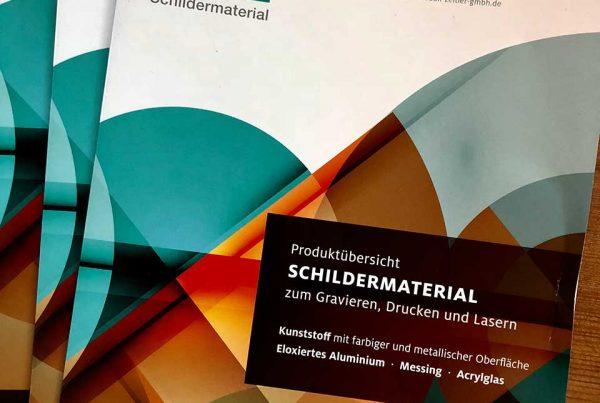 Zeitler Schilder Schildermaterial kommt aus Thierstein Sign material from Thierstein