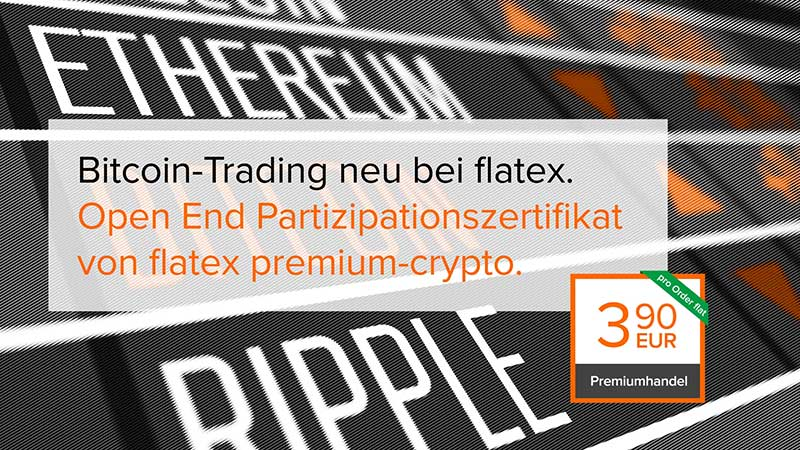flatex Trailer für Bitcoin-Trading