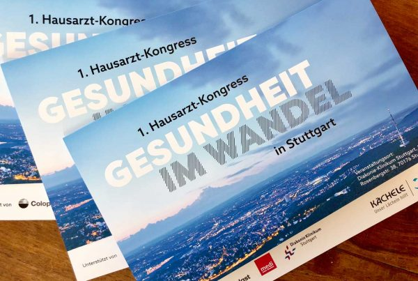 Hausarzt-Kongress in Stuttgart Einladung zur Premiere: druckfrisch Einladung zur Premiere: druckfrisch Invitation to the premiere