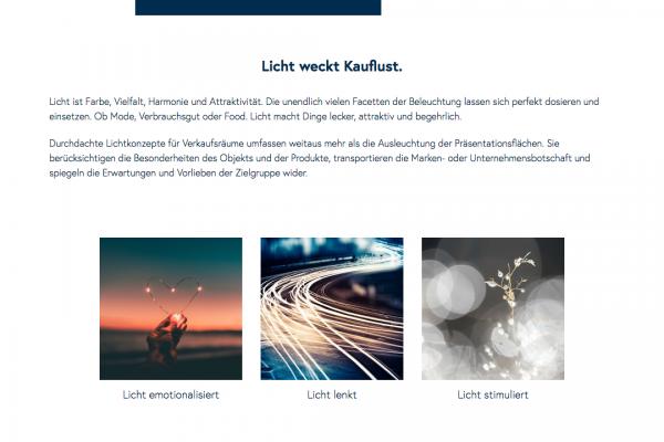 lichtbasis online Anwendungen