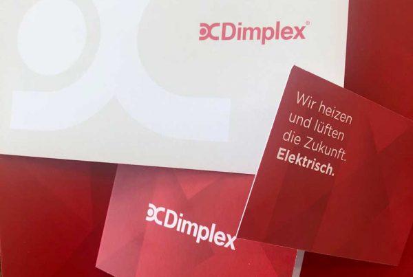 Glen Dimplex Visitenkarten Dimplex – die neue Marke wächst Dimplex – die neue Marke wächst Dimplex – brand is growing