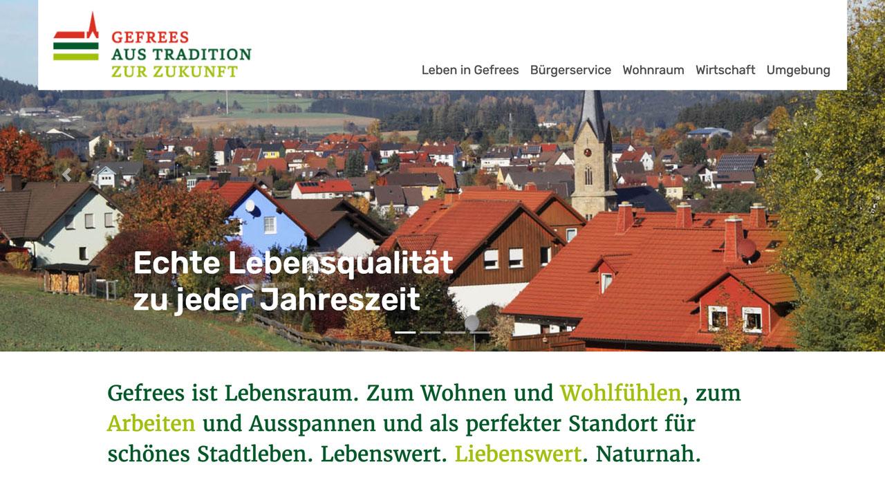 Stadt Gefrees online