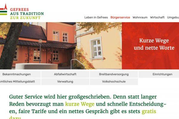 Stadt Gefrees online Bürgerservice