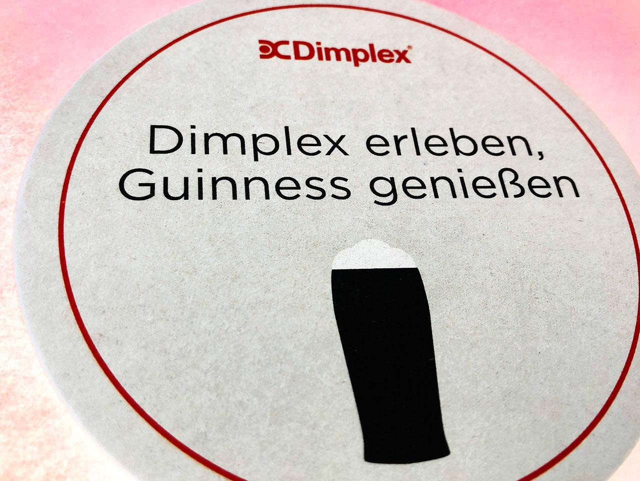 Dimplex Messeeinladung
