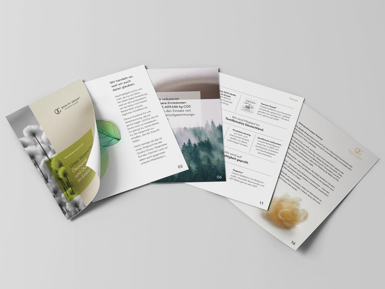 Quality Group Nachhaltigkeitsbericht Sustainability made in Helmbrechts