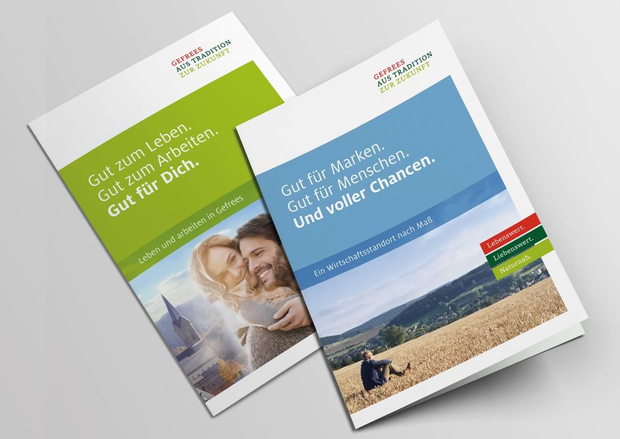 #Gefreesistgut - eine Heimatkampagne Broschüren #gefreesistgut – a home campaign