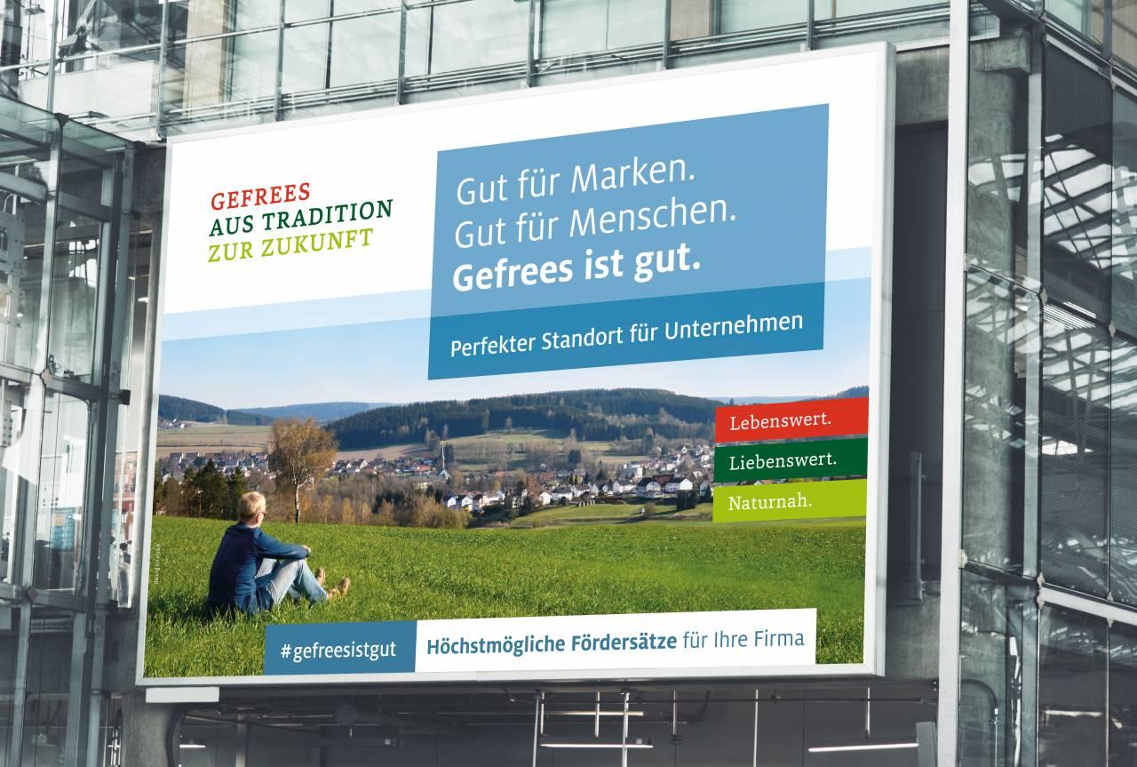 #Gefreesistgut - eine Heimatkampagne Großfäche #gefreesistgut – a home campaign